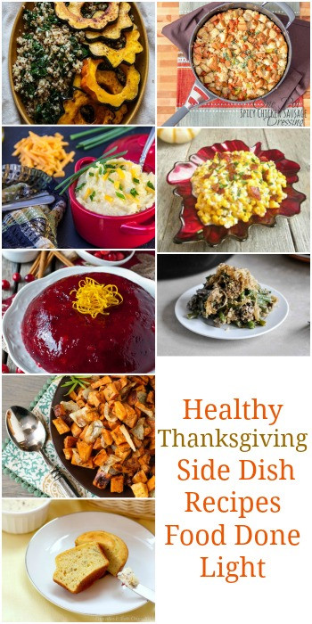 Lighter Thanksgiving Desserts  Healthy Thanksgiving Sides & Desserts Recipes