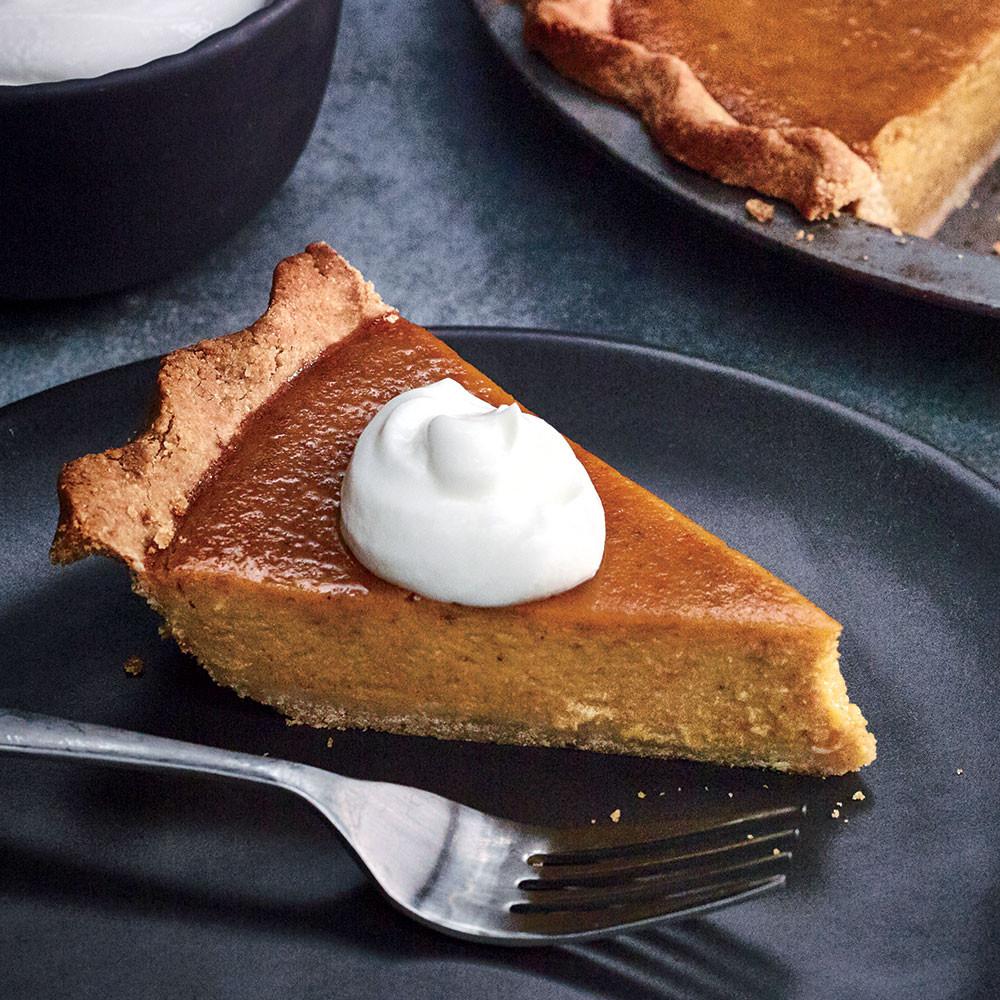 Lighter Thanksgiving Desserts  Pumpkin Pie Recipes Cooking Light