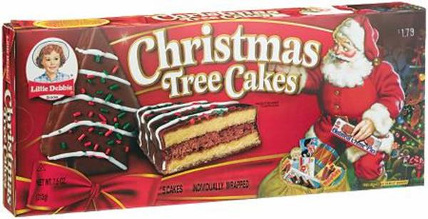 Little Debbie Christmas Cakes  Little Debbie Christmas Tree Cakes Chocolate 5 Cakes