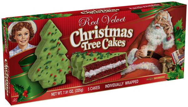 Little Debbie Christmas Tree Cakes Nutrition  Little Debbie Red Velvet Christmas Tree Cakes 5 Count