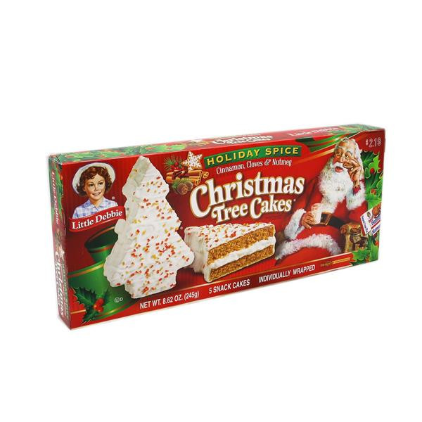 Little Debbie Christmas Tree Cakes Nutrition  Little Debbie Holiday Spice Christmas Tree Cakes