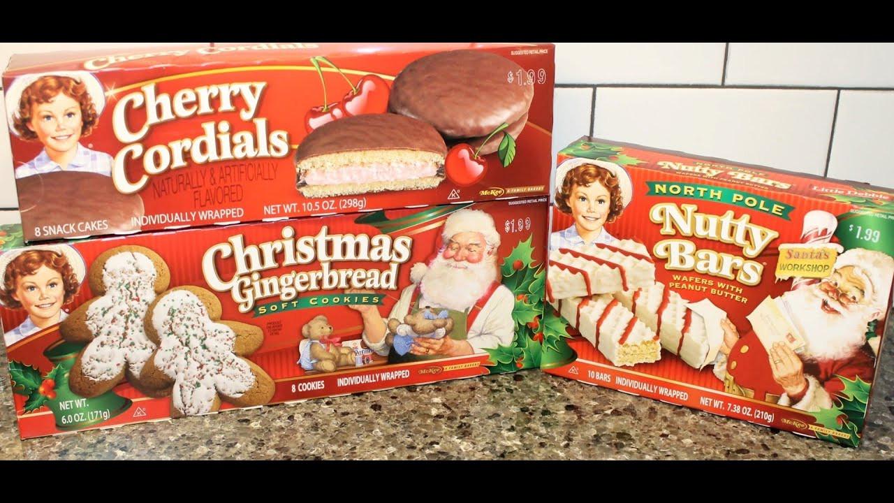 Little Debbie Christmas Tree Cakes Nutrition  little debbie peanut butter cream pie nutrition