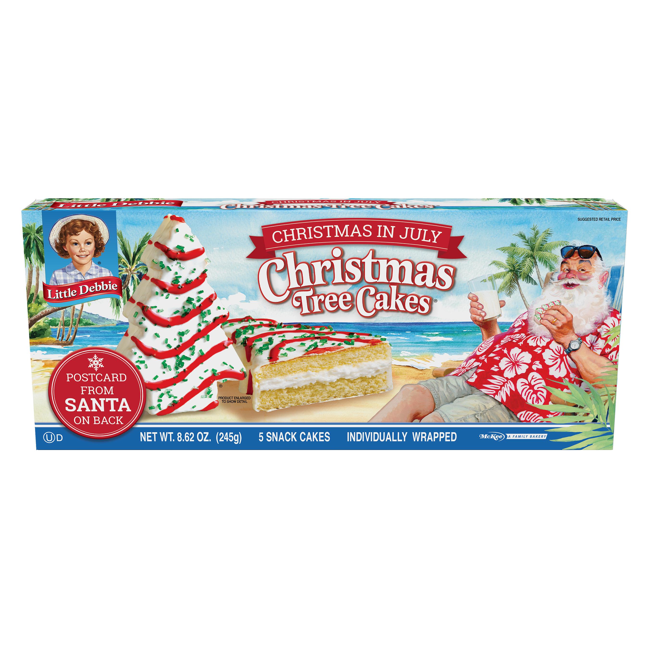 Little Debbie Christmas Tree Cakes Nutrition  Cake Recipes Under 250 Calories