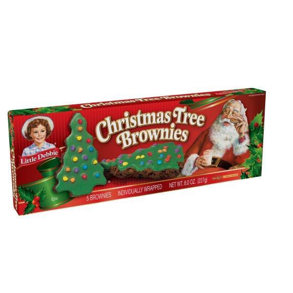 Little Debbie Christmas Tree Cakes Nutrition  Little Debbie Christmas Tree Brownies 5 Individually