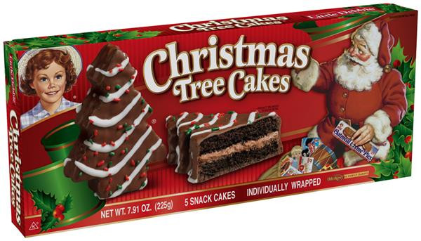 Little Debbie Christmas Tree Cakes Nutrition  Little Debbie Christmas Tree Cakes Chocolate 5 Ct
