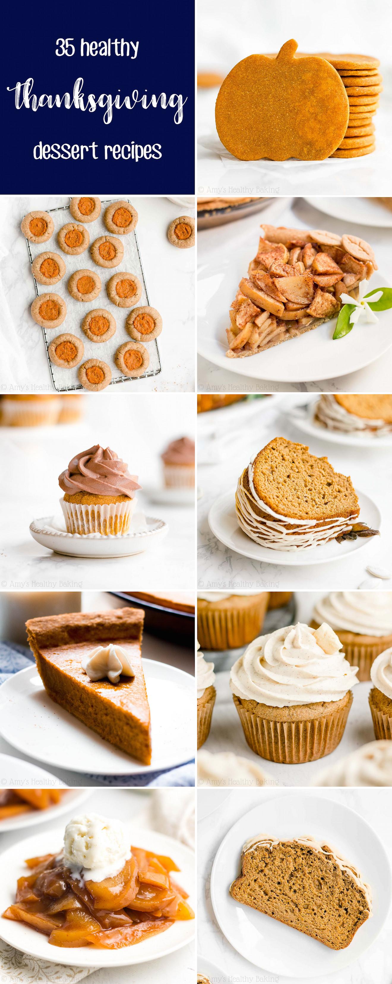 Low Calorie Thanksgiving Desserts  35 Healthy Thanksgiving Dessert Recipes