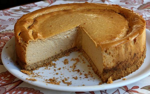 Low Calorie Thanksgiving Desserts  Low Fat Pumpkin Cheesecake