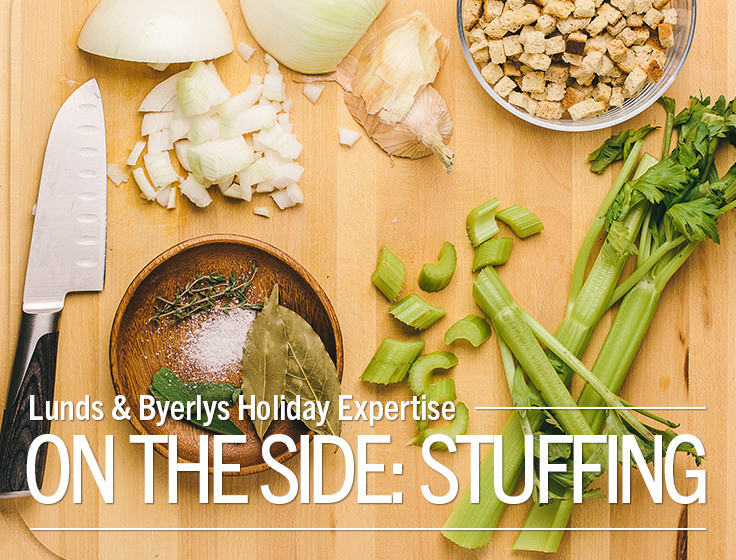 Lunds Thanksgiving Dinners  Lunds & Byerlys holiday expertise stuffing