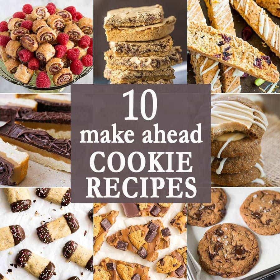 Make Ahead Christmas Cookies  10 Make Ahead Cookie Recipes The Cookie Rookie