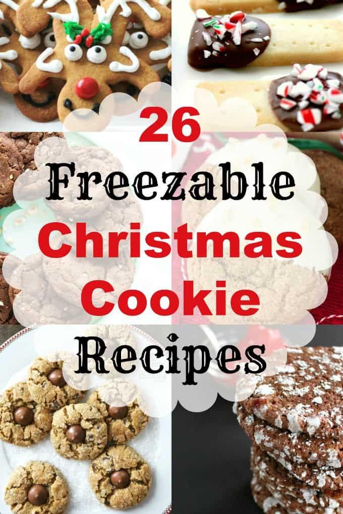 Make Ahead Christmas Cookies  26 Freezable Christmas Cookie Recipes make ahead