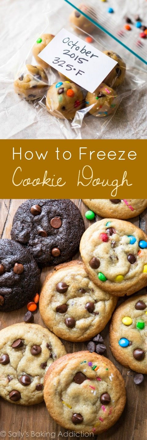 Make Ahead Christmas Cookies  How to Freeze Cookie Dough Sallys Baking Addiction