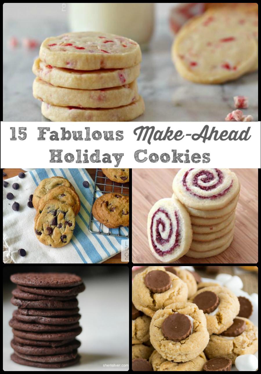 Make Ahead Christmas Cookies  Frugal Foo Mama 15 Fabulous Make Ahead Holiday Cookies