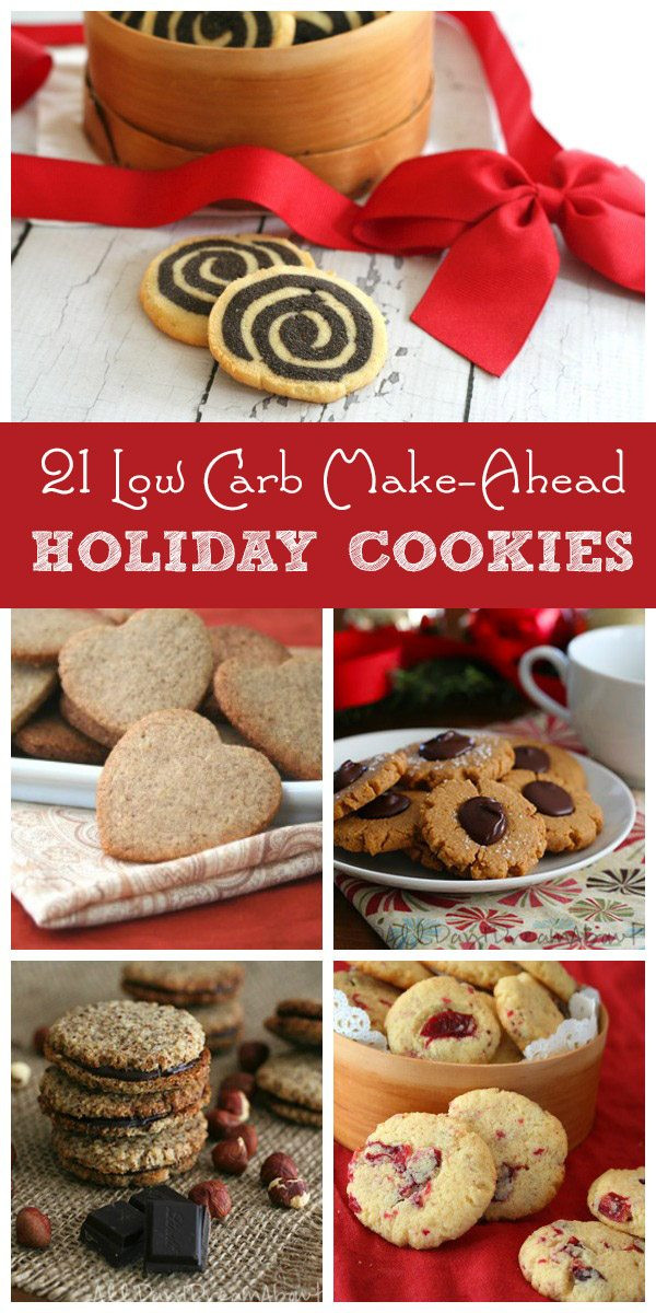 Make Ahead Christmas Cookies  Low Carb Christmas Cookies