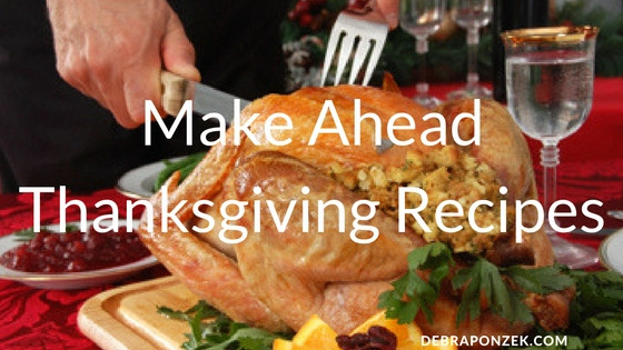 Make Ahead Dishes For Thanksgiving  Desserts Archives Chef Debra Ponzek Aux Delices Foods