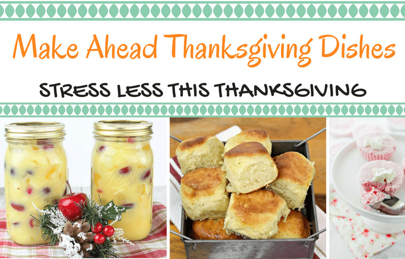 Make Ahead Dishes For Thanksgiving  Make Ahead Thanksgiving Dishes Southern Plate