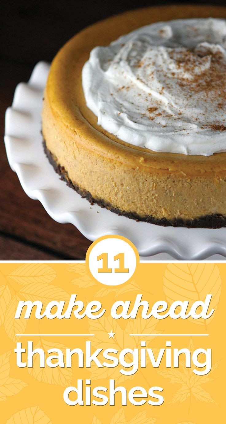 Make Ahead Dishes For Thanksgiving  105 best Holiday
