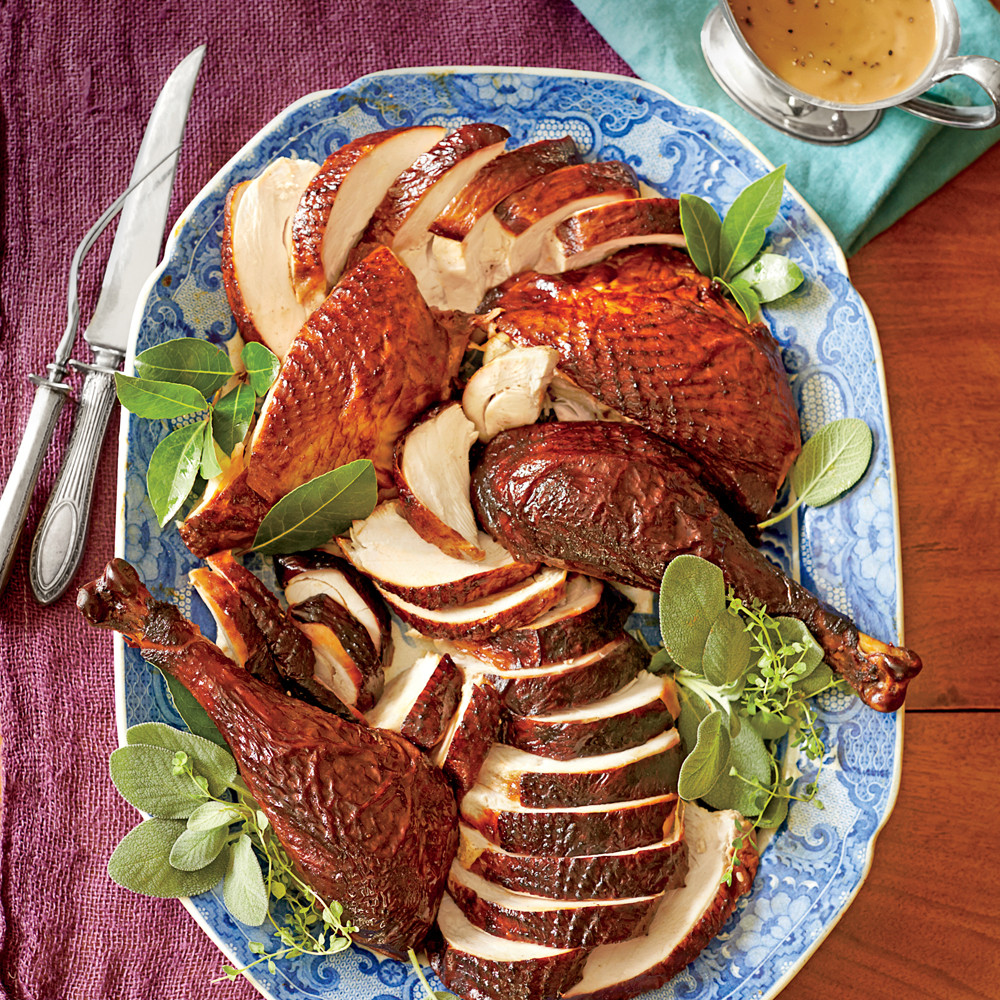 Marinated Thanksgiving Turkey  Dry Brined and Marinated Smoked Turkey Recipe