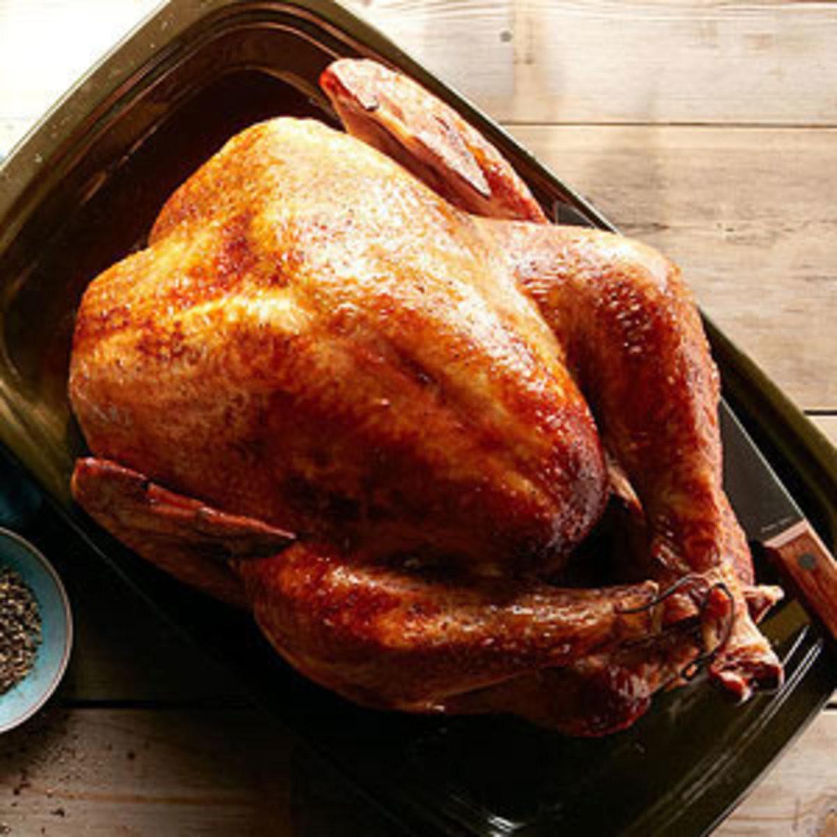 Marinated Thanksgiving Turkey  Thanksgiving Turkey Recipes Rachael Ray Every Day