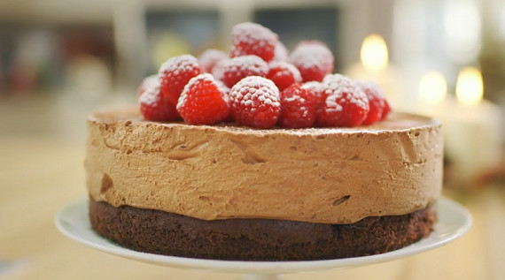 Mary Berry Christmas Cakes  Mary Berry celebration chocolate mousse cake recipe on