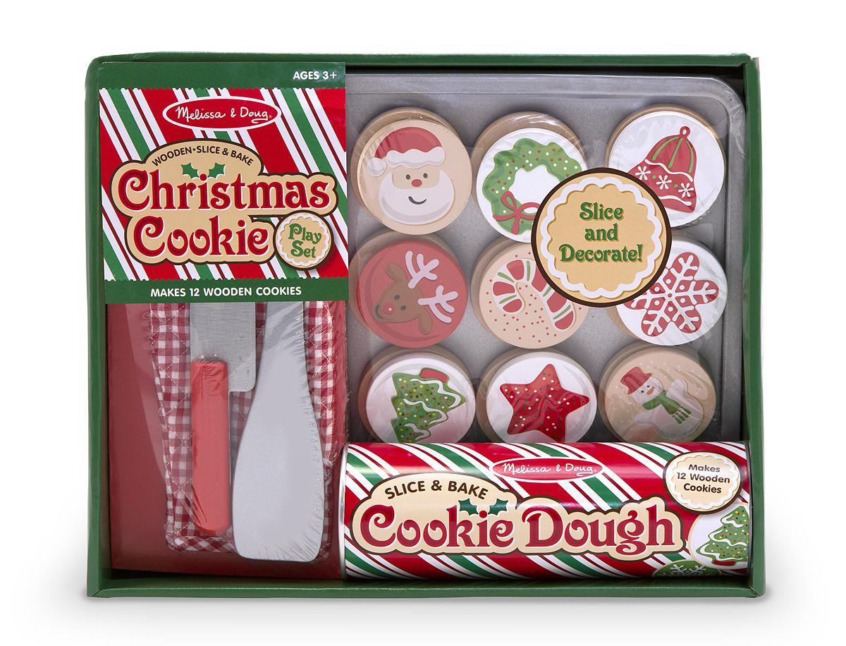 Melissa And Doug Christmas Cookies  Melissa & Doug Slice & Bake Christmas Cookie Play Set