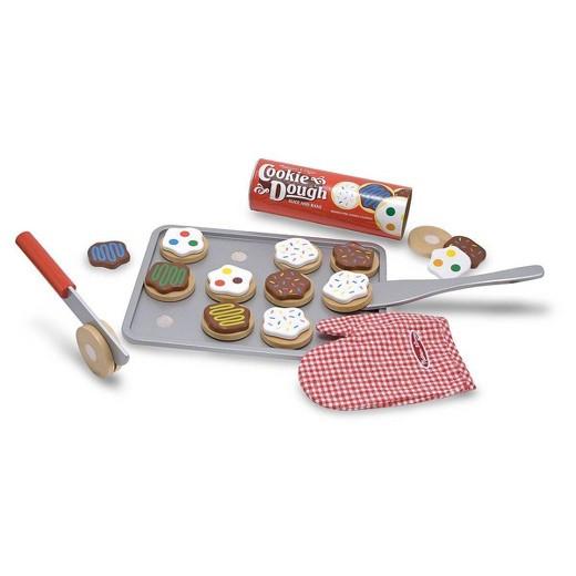 Melissa And Doug Christmas Cookies  Melissa & Doug Slice and Bake Wooden Cookie Play Food Set