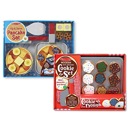 Melissa And Doug Christmas Cookies  pare price to slice and bake cookie set