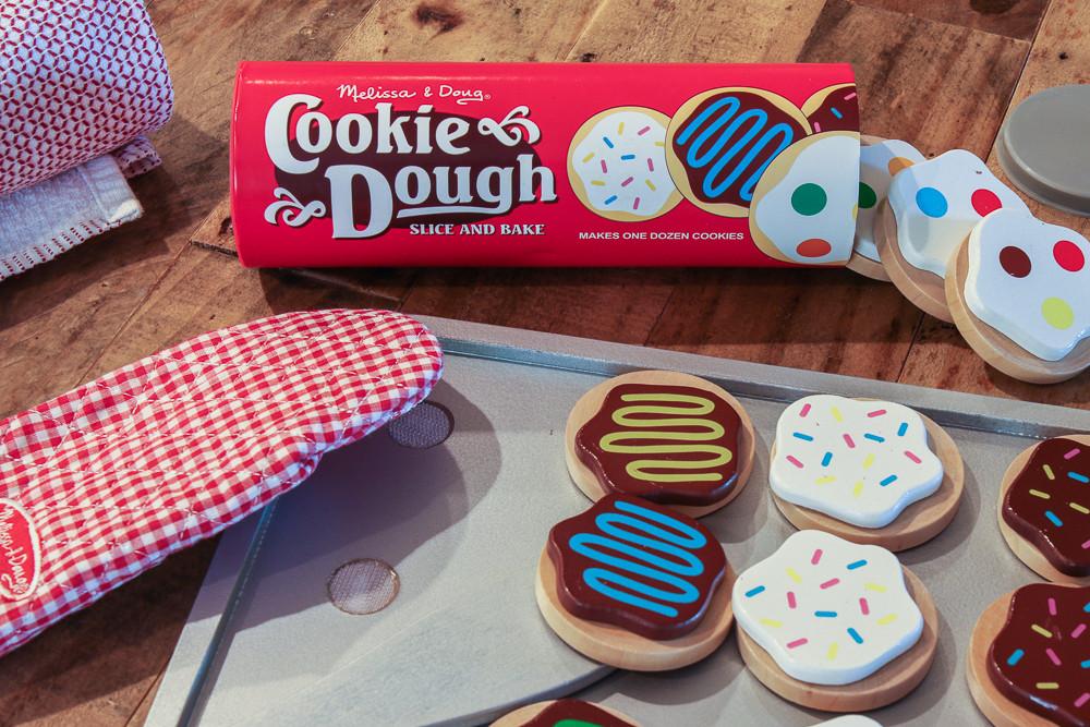 Melissa And Doug Christmas Cookies  Doug and Melissa Wooden Cookie Dough Cookies Play Set
