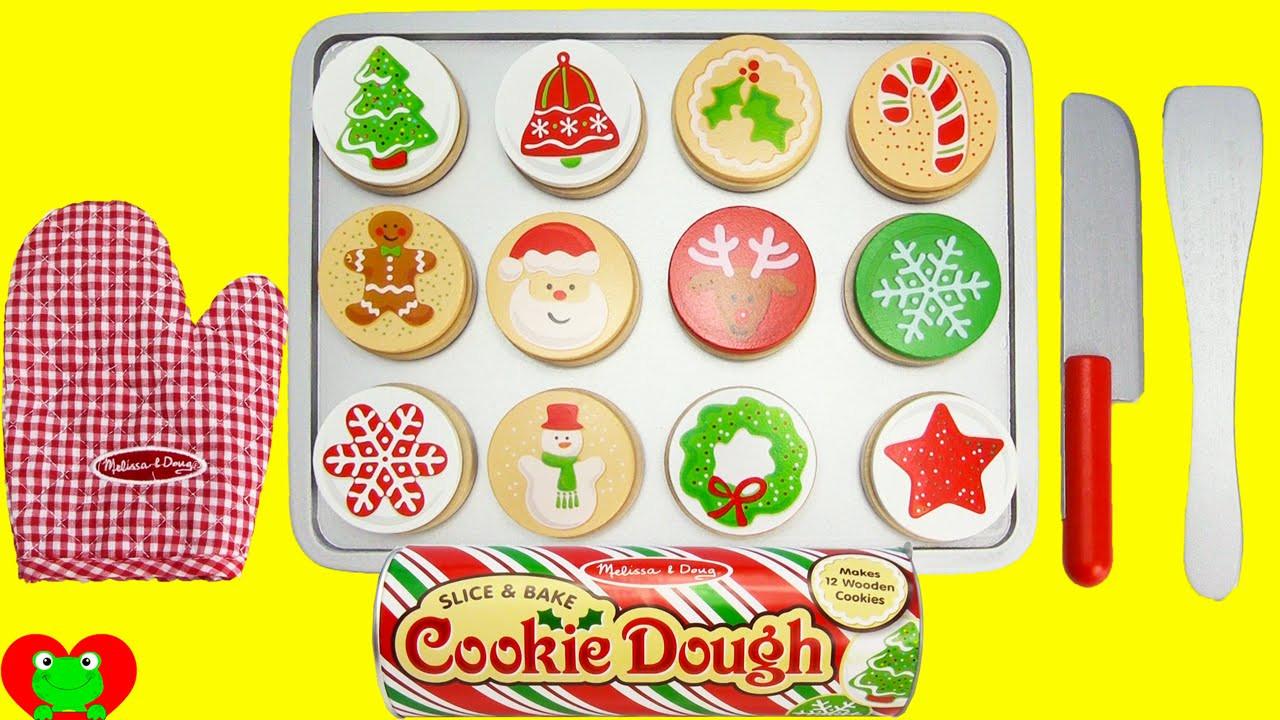 Melissa And Doug Christmas Cookies  Melissa and Doug Wooden Christmas Cookie Baking Playset