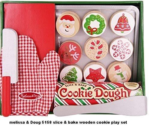 Melissa And Doug Christmas Cookies  Melissa & Doug Slice and Bake Wooden Christmas Cookie Play