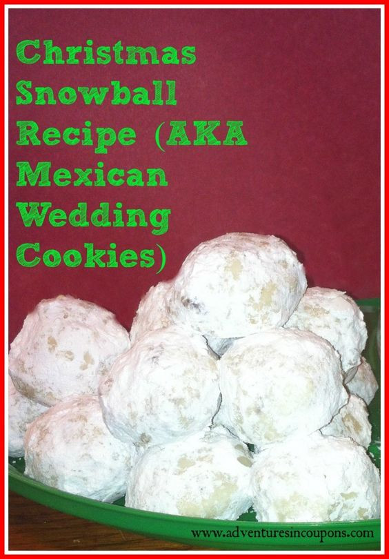 Mexican Christmas Cookies Recipe  12 Days of Christmas Cookies