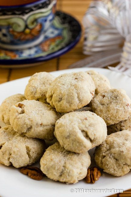 Mexican Christmas Cookies Recipe  370 best images about Recipes Recetas on Pinterest