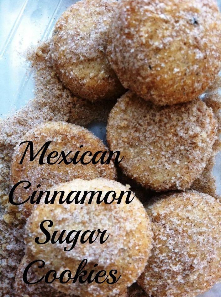Mexican Christmas Cookies Recipe  Mexican Cinnamon Sugar Cookies or Polvorones de Canela are