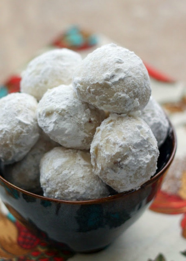 Mexican Christmas Cookies Recipe  30 Delicious Christmas Cookie Recipes A Blissful Nest