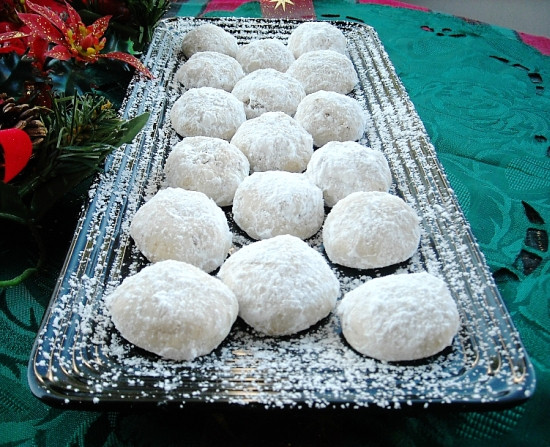 Mexican Christmas Cookies Recipe  Mexican Wedding Cookies Recipe Flour My Face