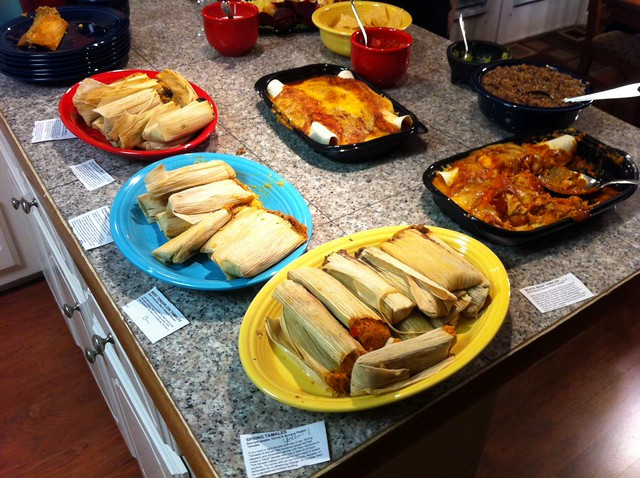 Mexican Christmas Dinners  Christmas eve dinner all mexican dishes plete with