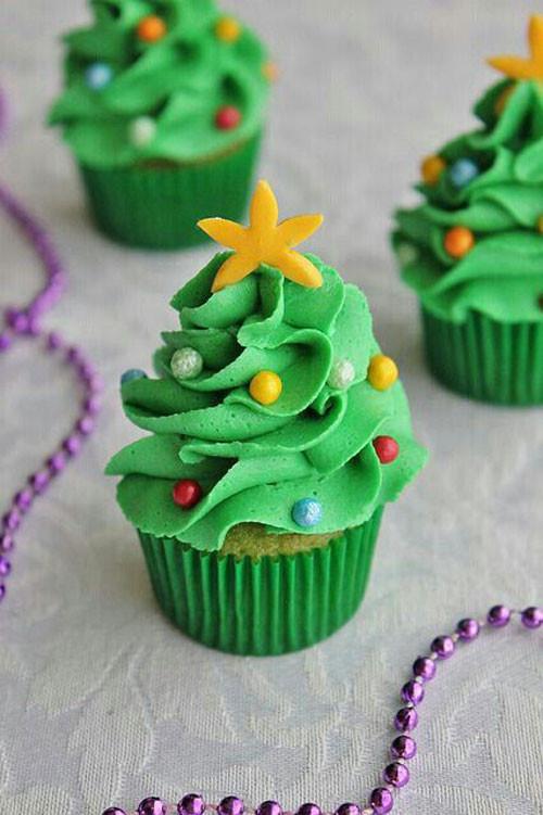 Mini Christmas Cupcakes  30 Easy Christmas Cupcake Ideas