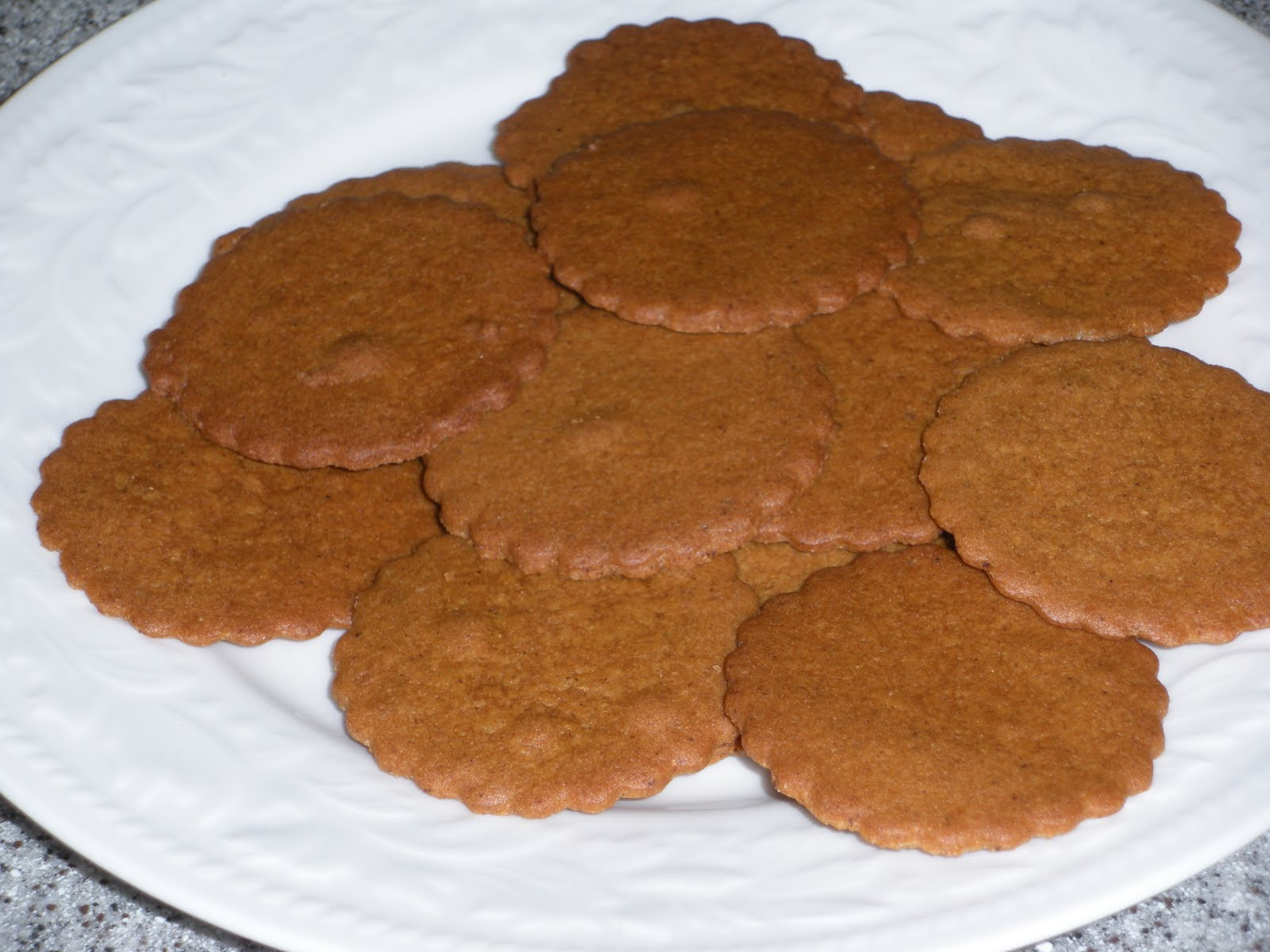 Moravian Christmas Cookies  NOT A REAL HOUSEWIFE Moravian Spice Cookies