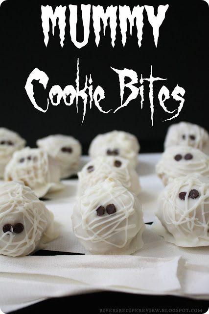 Mummy Cookies For Halloween  Creative Halloween Treats – Something Decorated