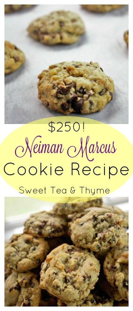 Neiman Marcus Christmas Cookies  Neiman Marcus Cookie Recipe