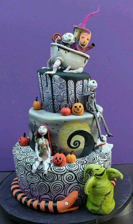 Nightmare Before Christmas Cakes For Sale  Jack Skellington cake Beautiful cakes Pinterest