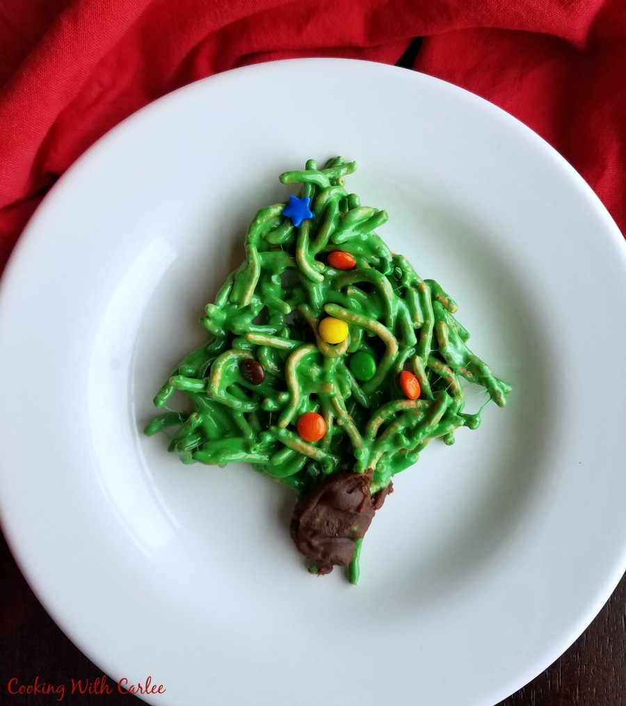 No Bake Christmas Tree Cookies  Cooking With Carlee No Bake Christmas Tree Cookies