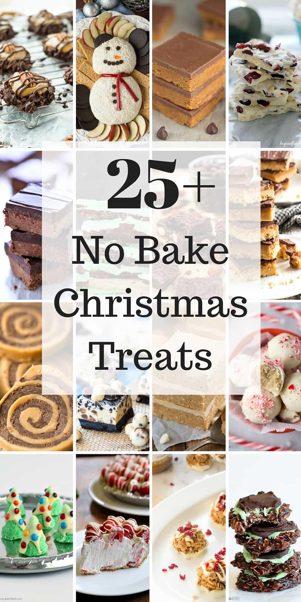 No Baking Christmas Treats  25 No Bake Christmas Treats Easy Christmas cookies