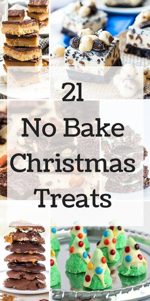 No Baking Christmas Treats  21 Festive Christmas Treats You Won t Believe Are No Bake