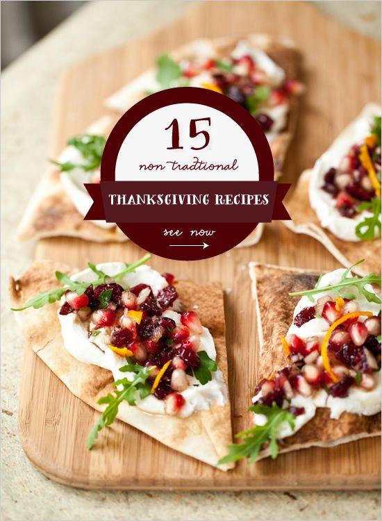 Non Traditional Thanksgiving Dinner Ideas  15 Non Traditional Thanksgiving Dinner Ideas