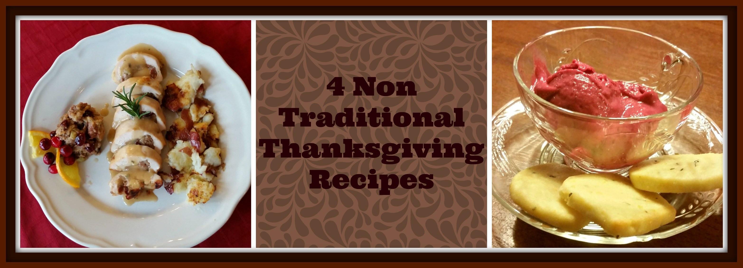 Non Traditional Thanksgiving Dinner Ideas  4 Non Traditional Thanksgiving Dinner Recipes Bubble