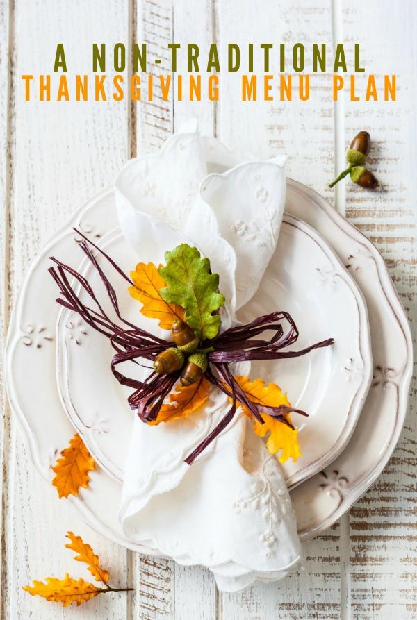 Non Traditional Thanksgiving Dinner Ideas  Non traditional Thanksgiving Menu Plan Frugal Living NW
