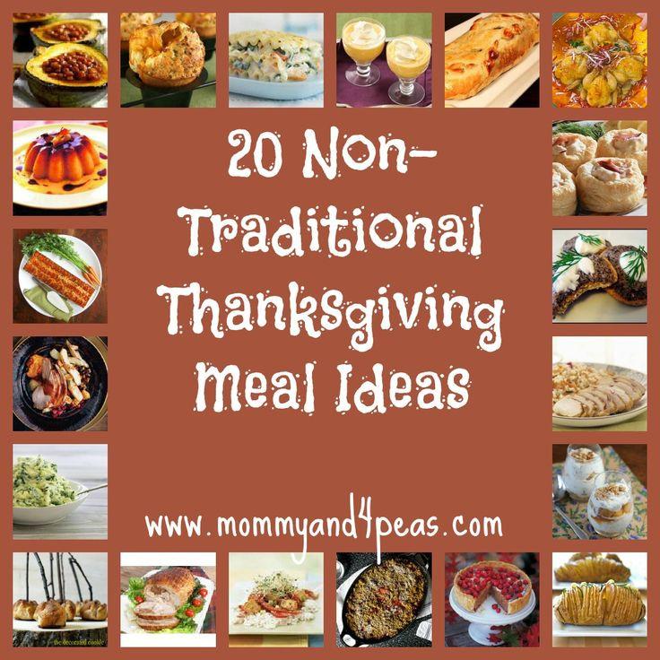 Non Traditional Thanksgiving Dinner Ideas  Host a Non Traditional Thanksgiving 20 Great Meal Ideas