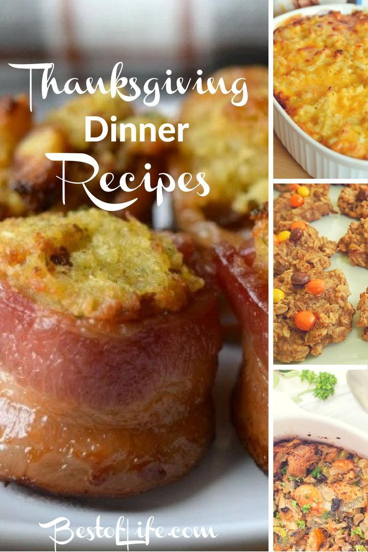 Non Traditional Thanksgiving Dinner Ideas  Thanksgiving Dinner Recipes for a Feast The Best of Life