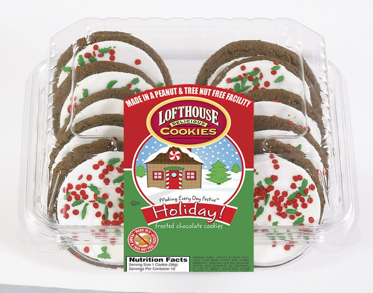 Nut Free Christmas Cookies  146 best images about Lofthouse Holiday Cookies on