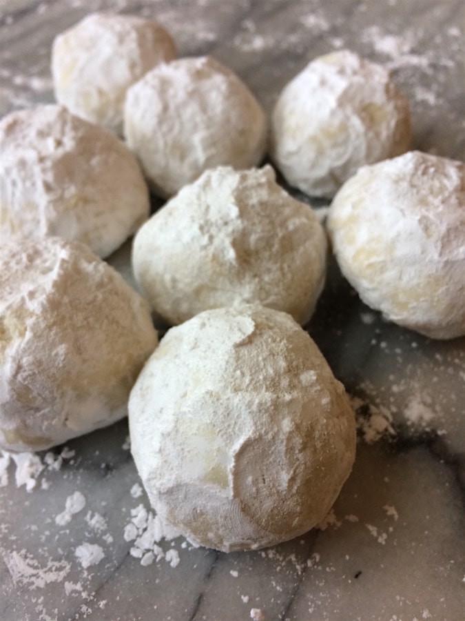 Nut Free Christmas Cookies  Nut Free Snowball Cookies